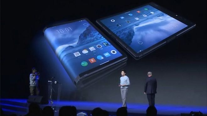 CES Gets the First Hint Of the FlexPai- The Foldable Phone