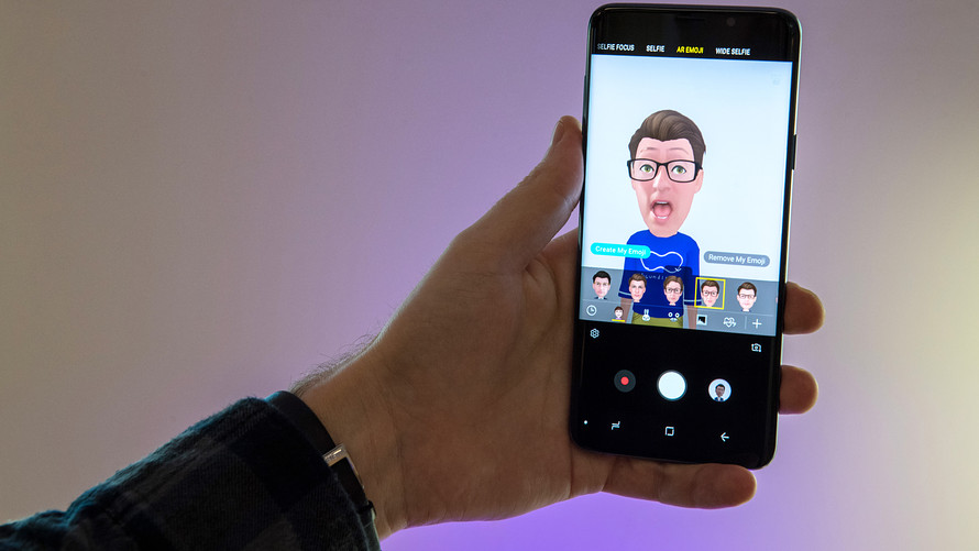 Samsung in The Market With Its New Animation Selfie Camera