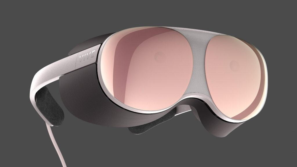 HTC Vive Launching Project Photon Prototype in Rose Gold-Colored Smart Glasses